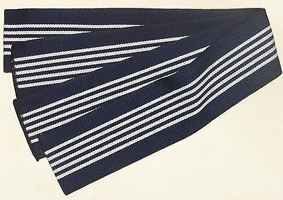 New Navy Blue Men's Cotton Tanzen Obi for Yukata Kimono Made in Japan
