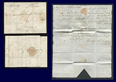 NÜRNBERG: Vorphila Brief 1791 nach Steyr (Österreich) mit Inhalt #24789