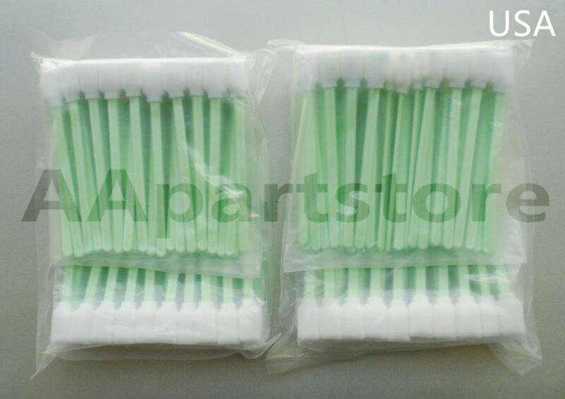 200 Solvent Cleaning Swab swabs for Large Format Roland Mimaki Mutoh Printers US