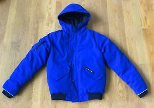 Youth Size L (14/16) Authentic Canada Goose Rundle Bomber Coat