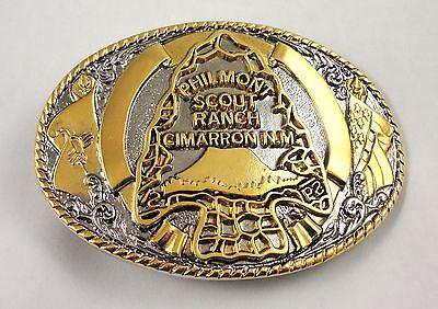 Philmont Scout Ranch Two-Tone Arrowhead Belt Buckle - Boy Scouts of America BSA