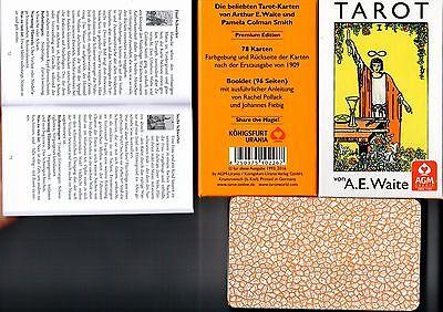 Premium A.E. WAITE Tarot Karten Rider Waite 78 Tarotkarten Standardausgabe