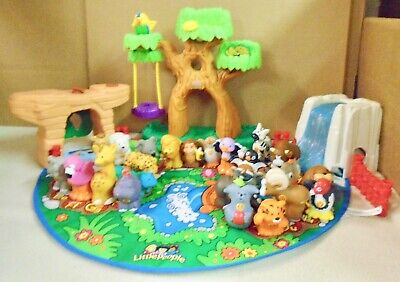 FISHER  PRICE  LITTLE  PEOPLE  ABC  A to  Z  LEARNING  ZOO - 26  ANIMALS  (A)
