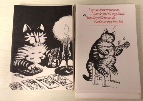 B. Kliban Cat Cards 1977 Tarot Card Reader  Eat Little MOUSIES Song