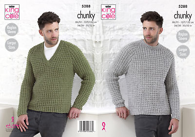 King Cole Ladies Double Knitting Pattern Long or Short Raglan Sleeve Jumper 5125