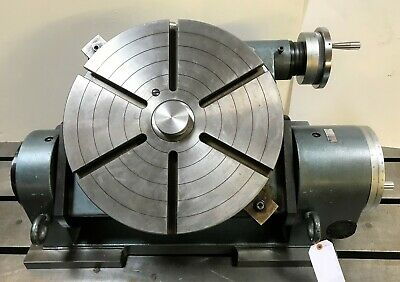 Yuasa 19-34 Two Axis Precision Rotary Table Tilting W Certificate 550-220