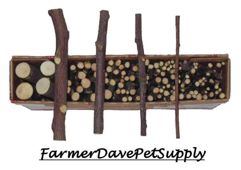 FarmerDavePetSupply 120 ORGANIC APPLE WOOD CHEW Twigs-Thins-Sticks-Branches