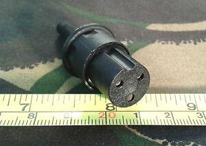Bulgin 3-Pin Line Socket Power Connector (Plug for Weller TCP Soldering Iron)