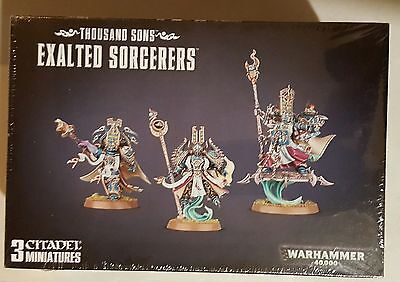 Warhammer 40K Thousand Sons Exalted Sorcerers New/Sealed