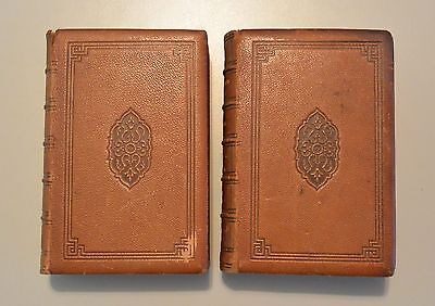 Poetical Works Of John Greenleaf Whittier In Two Volumes 1857 Full Leather