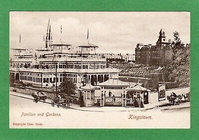 Pavilion & Gardens Kingstown Co. Dublin pc unused Chas Cook Ref H122