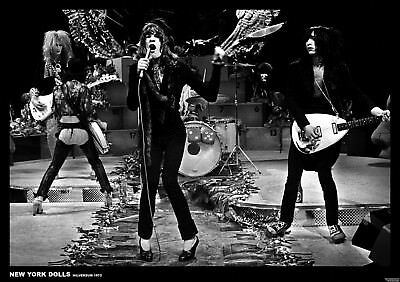 NEW YORK DOLLS LIVE ON STAGE POSTER NEW  !