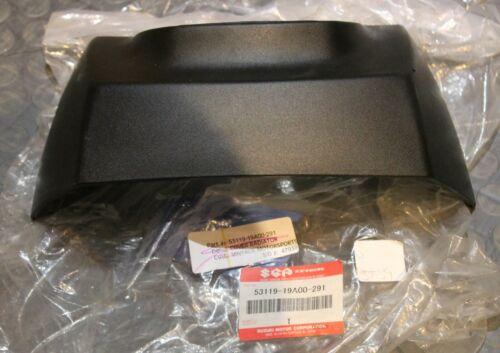 NOS Suzuki Radiator Cap Cover Black 1985-92 LT250R 53119-19A00-291 New BIN K