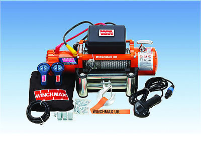 RECOVERY WINCH 24V 4x4 13500 lb WINCHMAX BRAND