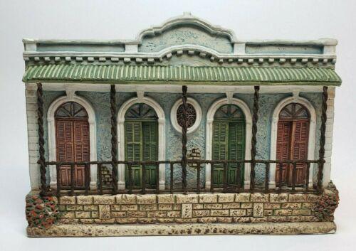 VTG PLAQUE / CERAMIC BUILDING / HOUSE /  PUERTO RICO / GUILLON 1990