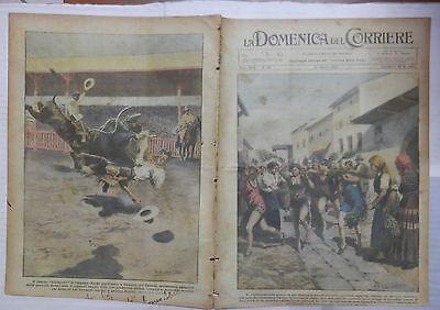 LA DOMENICA DEL CORRIERE 21 Agosto 1927 Costume da Bagno Vienna Calgary gare di (Costume Calgary)