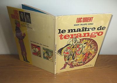 E.O.N°3 1971 Luc Orient le maître de Terango etat TBE E. Paape-Greg
