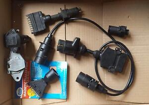 Assortment of Trailer plugs and adaptors Two Wells Mallala Area Preview