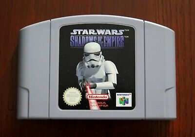 STAR WARS SHADOWS OF THE EMPIRE, Nintendo 64 - N64, PAL version, ONLY CARTRIDGE