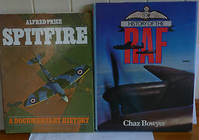 SPITFIRE plus THE HISTORY OF THE RAF