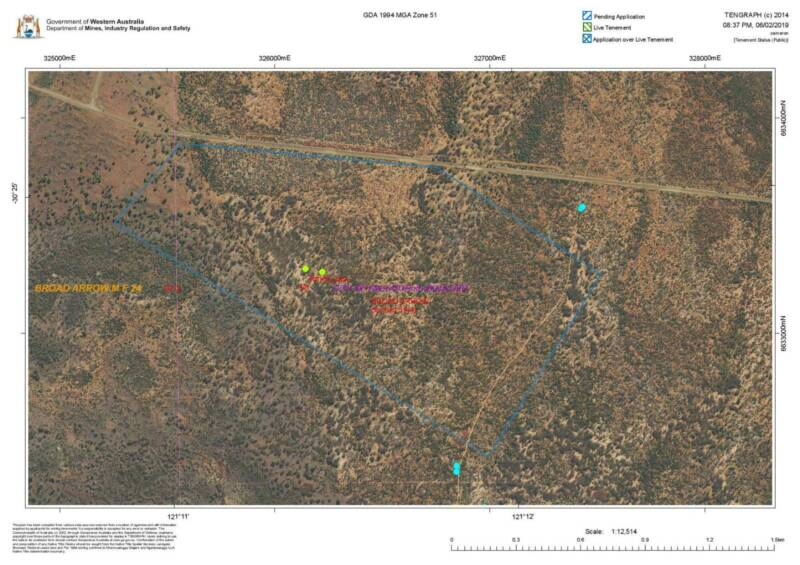 Gold Prospecting Lease WA *sold pending payment* | Land For Sale