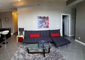 Futon Couch and Chaise for Sale