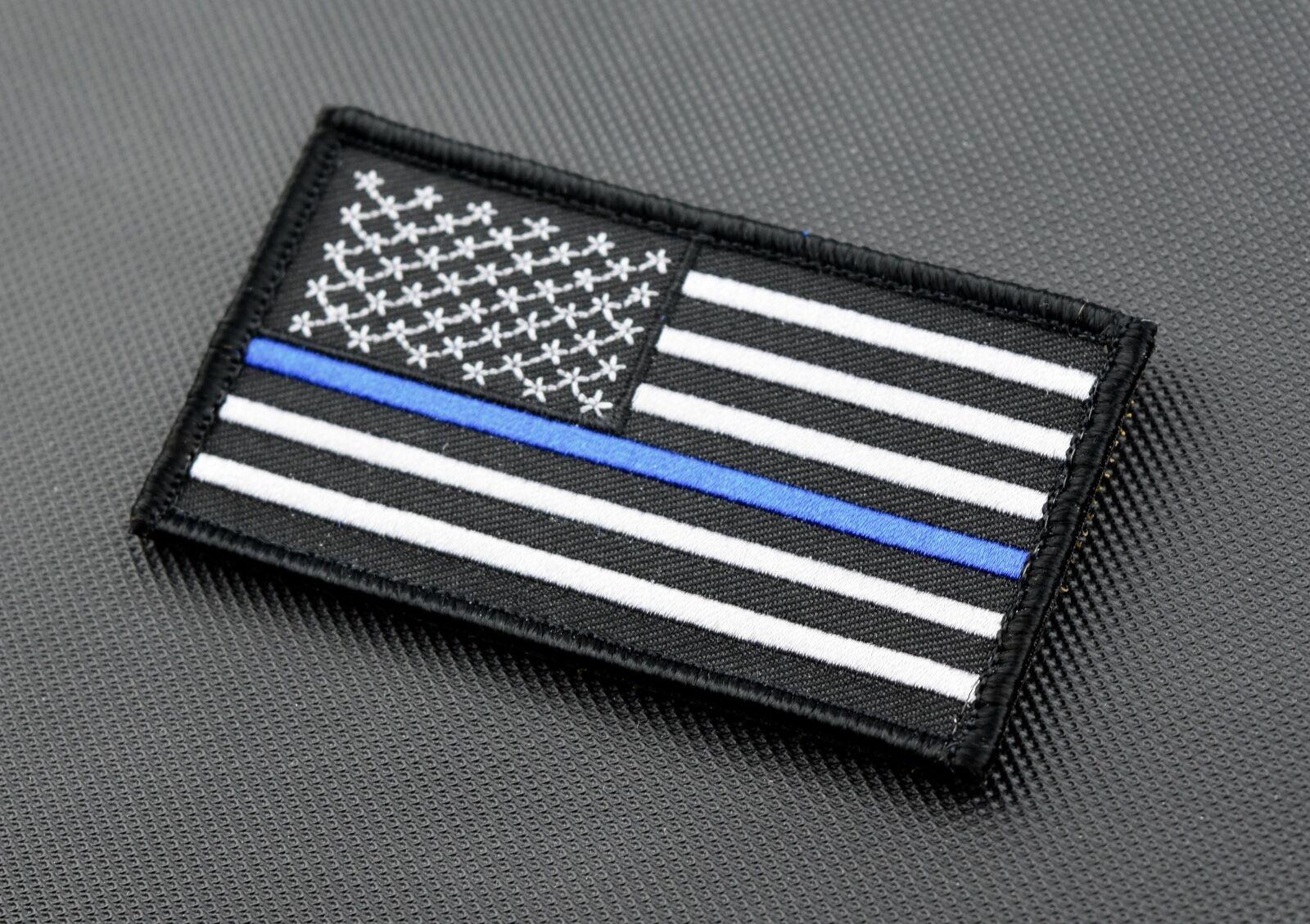 thin blue line union flag patch cops - HD1600×1129