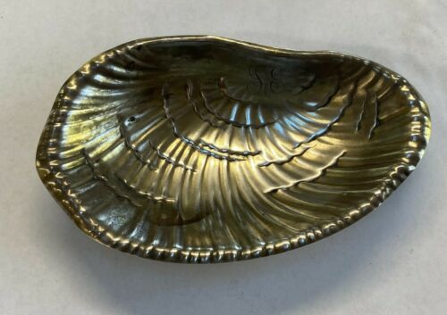 """Vintage Tiffany & Co Sterling Silver Footed Dish Mono. L6"""" x W 3 1/2"""" xH 1"""""""