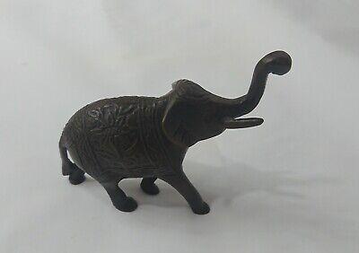 Vintage Bronze Elephant