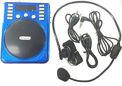I Bastiek Multi-Function Speaker BT/TF/FM/USB/ Blue