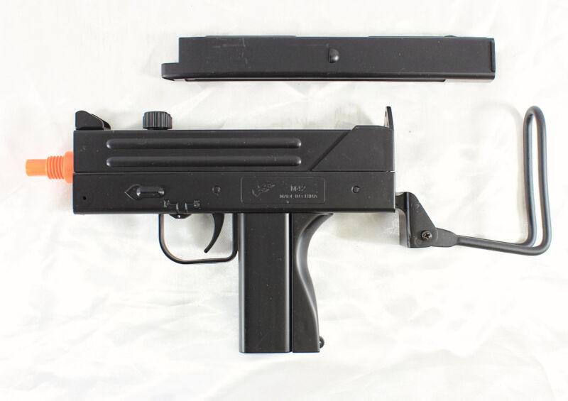 MAC 10 UZI Airsoft Gun + Magazine & Folding Metal Stock - M42F pistol/rifle NEW