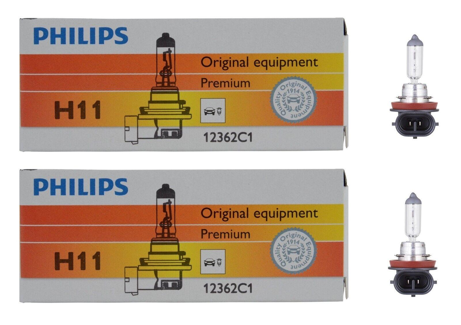 2 LAMPADINE H7 WHITE VISION PHILIPS PEUGEOT 208 1.6 BLUEHDI 120 KW:88 2013/> 1297