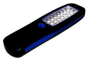 24-LED-foco-linterna-electrica-Lampara-de-trabajo-auto-Camping