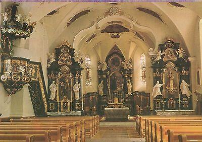 Alte Postkarte - Pfarrkirche St. Gallenkirch