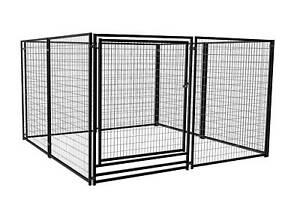 Deluxe Outdoor Welded Panel Dog Kennel Run Single