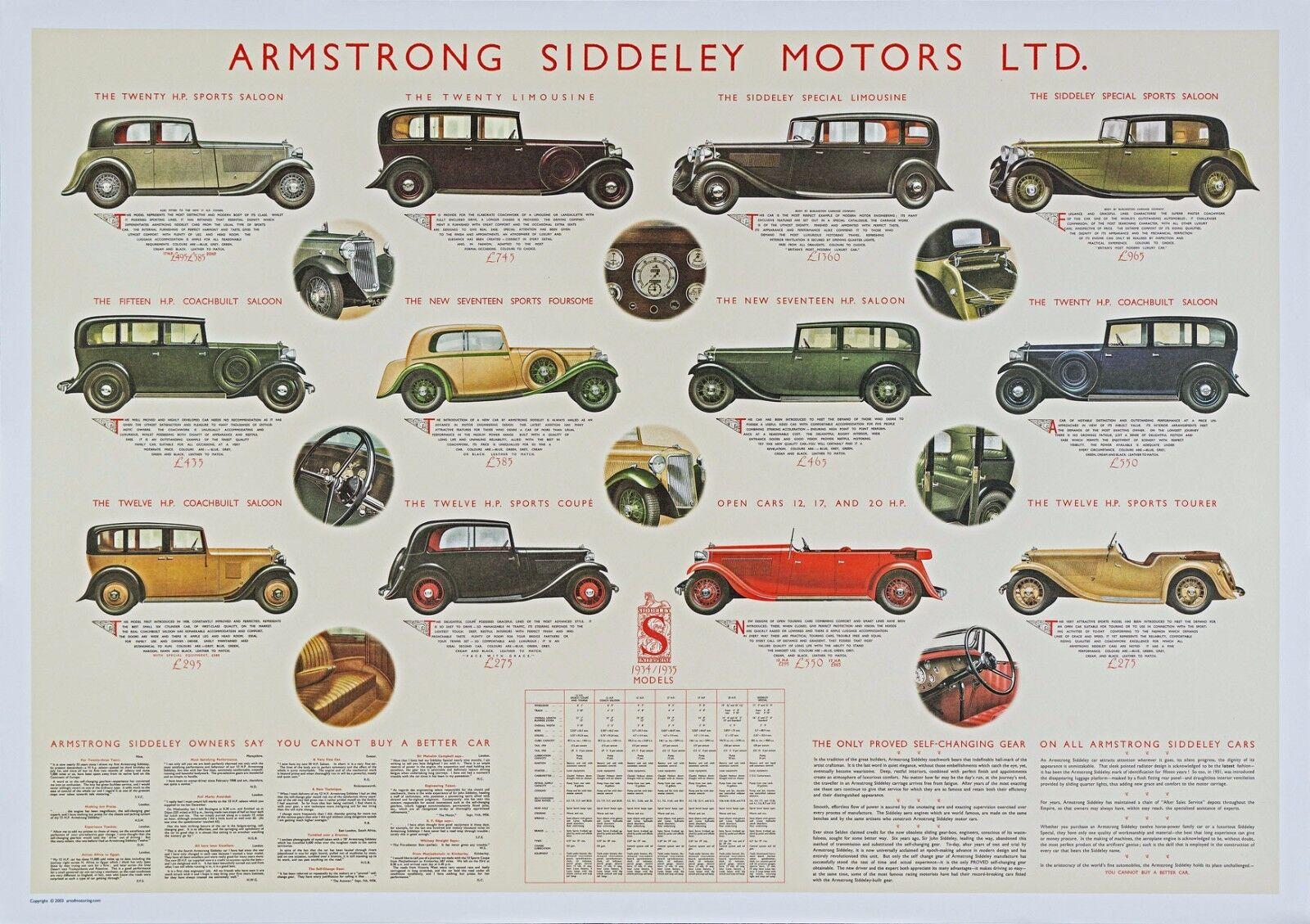 Lagonda Vintage motor car advert  poster reproduction.