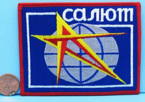 """Soviet Space Program PATCH vtg SALYUT Space Station Crew Mir Soyuz - 4""""!"""