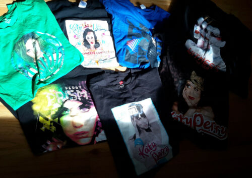 7 Katy Perry Concert Tour T shirts Assorted