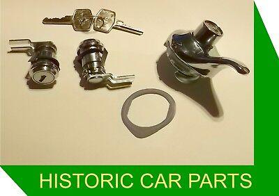 Mgb Door Locks BHH973P Inc 2 Keys  ROW1-M