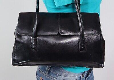 Black Leather Hobo Bag - ALFANI Medium Black Leather Shoulder Hobo Tote Satchel Purse Bag