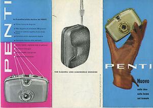 Penti fotocamera micro 1959 Veb Kamera und Kinowerke Dresden - Italia - Penti fotocamera micro 1959 Veb Kamera und Kinowerke Dresden - Italia