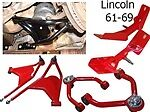 Fbf-lincoln-6169 Lincoln Continental 1961-1969 Front Kit