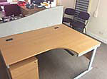 Office Furniture: Selection of good quality office furniture, including executive desks