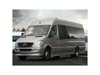 LUXURY MINIBUS HIRE 16 SEATER TRAVEL IN STYLE ADVANCE BOOKING ONLY