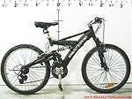 """26 SUPER CYCLE hooligan ST  XXL Full-Suspension 22"""" ALUMINIUM frame Mountain Bike height 5'6"""" to 6'5"""" low mileage Mint"""