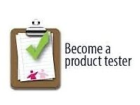 Part Time Product Tester!
