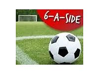 **6 ASIDE PLAYERS NEEDED**