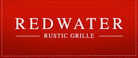 Redwater is looking for prep cooks Monday-Friday and line cook