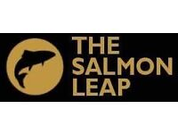 Part Time Bar Staff, Weekends and Nights, Busy Function Rooms In East Kilbride, Salmon Leap
