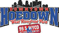 99.5 WYCD downtown hoedown 2 day passes